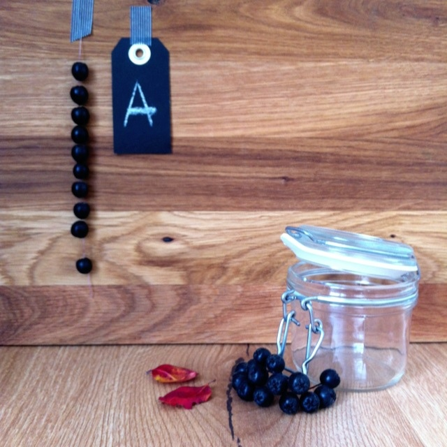 selbstgemachte aronia marmelade beim black monday 8. Black Bedroom Furniture Sets. Home Design Ideas