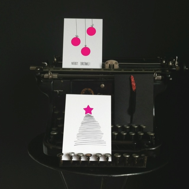 schreib mal wieder oder wie man weihnachtskarten schnell. Black Bedroom Furniture Sets. Home Design Ideas