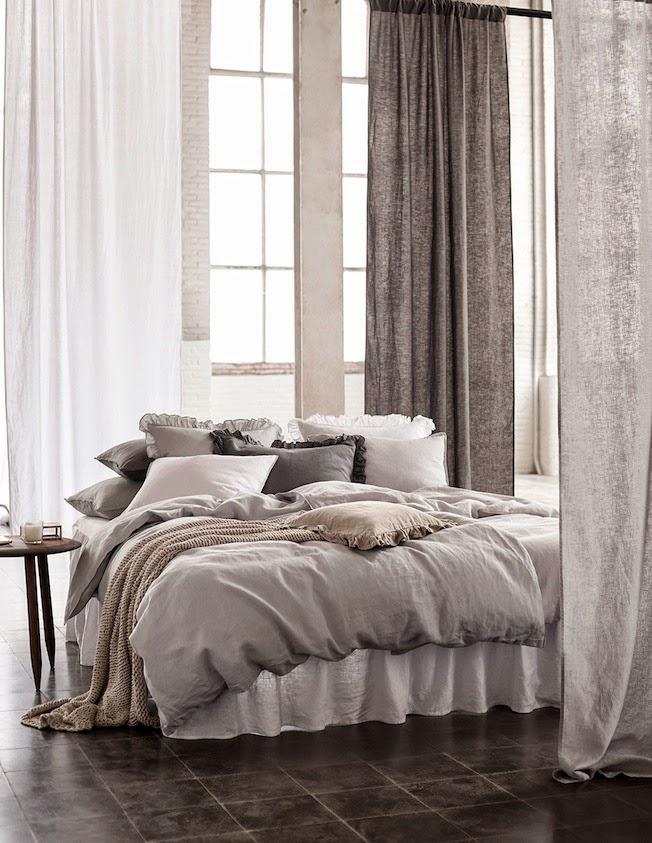 Wandfarbe Wohnzimmer Schwarz Weiße Möbel. Ausblick Auf Den Frühling 2015  Mit Hu0026m Home