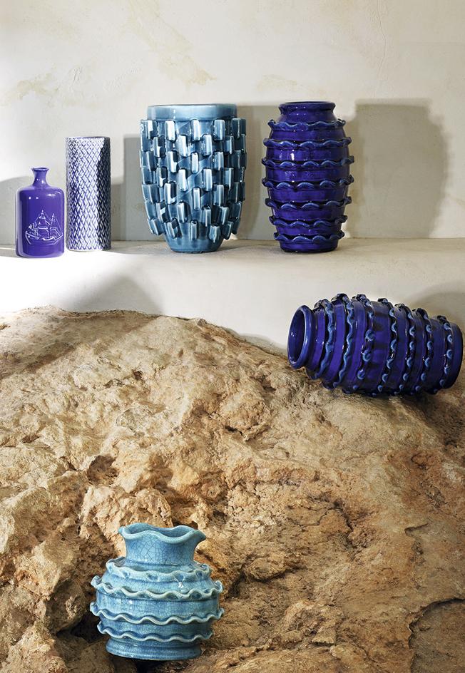 Zara-Home-Summer-2015-Vasen-Vases-Spanien-jennadores-blau-Interior-Inspiration-Kollektion