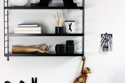 string regal schwarz shelfie jennadores black monday kay. Black Bedroom Furniture Sets. Home Design Ideas