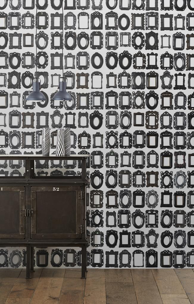 obsession biblioteca neue tapeten von nlxl. Black Bedroom Furniture Sets. Home Design Ideas