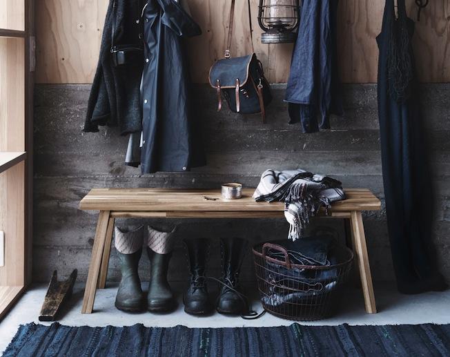 Ikea-Skogsta-Blog-Jennadores-Wood-Holzbank-Flur-Garderobe