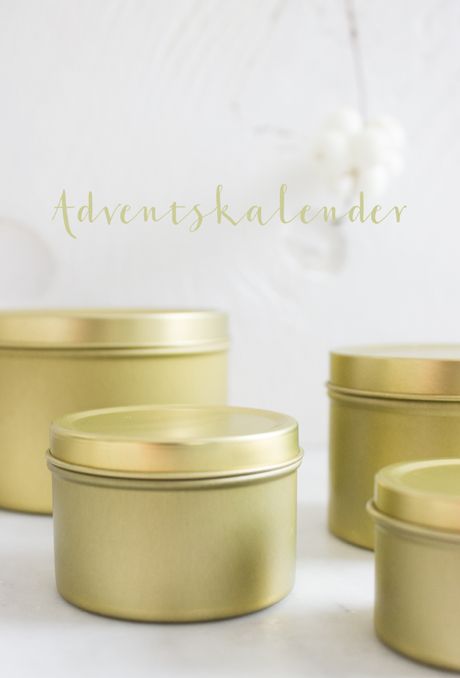 Adventskalender-gold-Dosen-Ikea-brass-white-Blog-Jennadores-Advent-Typo-Adventskalender