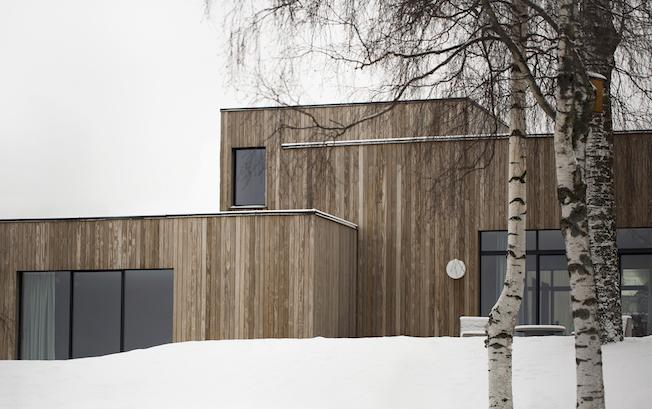 Holzhaus, Außenansicht, Architekur, Gjøvik, Norm Architects