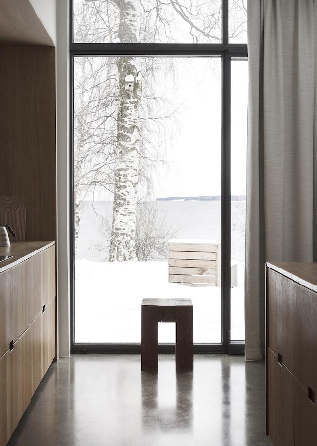 Norm Architects; Haus , Gjøvik, Architektur, Holzhaus, Aussicht