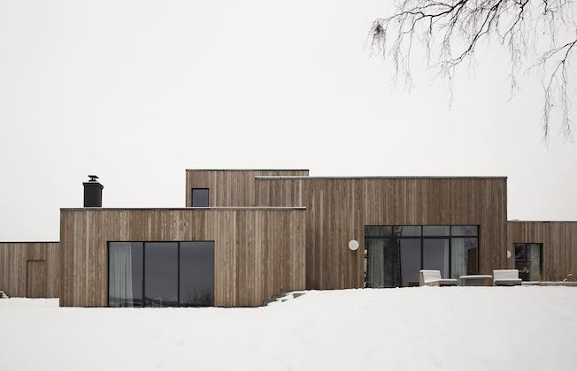 Gjøvik, Holzhaus, Dänemark, Architektur
