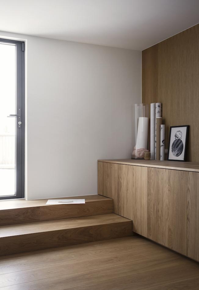 Gjøvik, Haus, Norm Architects, Wohnzimmer, Holzwand
