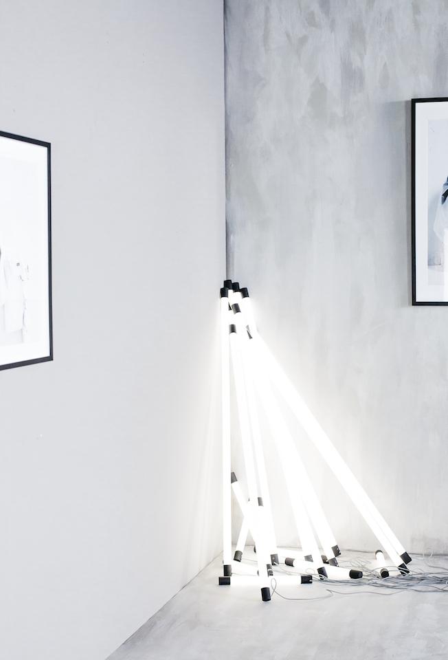 Ikea, Spänst Kollektion, Chris Stamp, Leuchtstoffröhre, LED