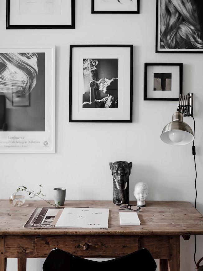 Wohnen, Industriegebäude, Schreibtisch vintage, Bilder, Galerie