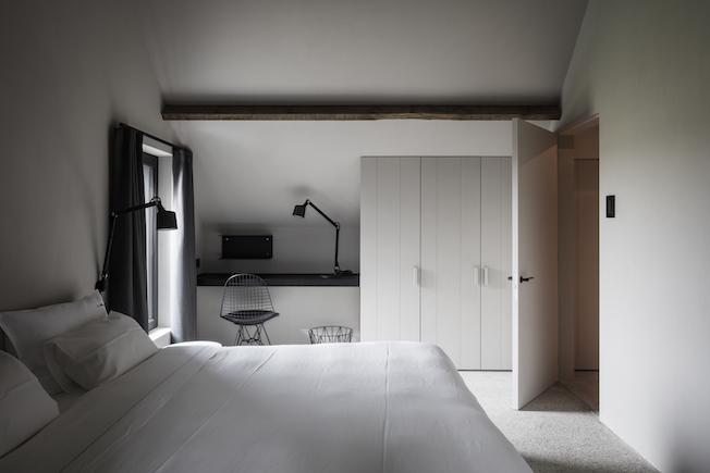 The Bunkers, Knokke-Heist, Bed & Breakfast, Zimmer, Einbauschrank