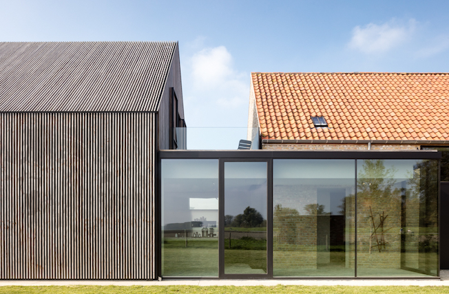 The Bunkers, Knokke-Heist, Bed & Breakfast, Außenansicht, Architektur